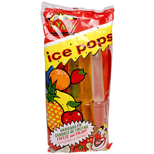 PAYASO ICE POPS           15/10 CT