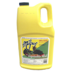 MILPAS  OIL VEGETABLE     8/88  OZ