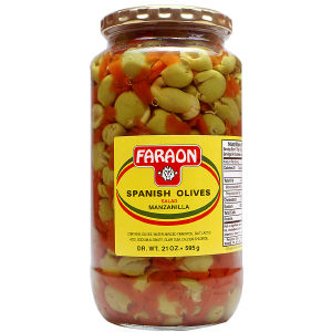 FARAON OLIVES SALAD       12/21 OZ