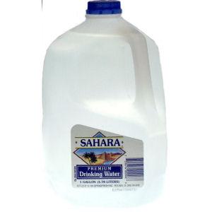SAHARA PREMIUM WATER      6/1 GAL