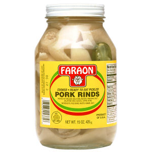 FARAON PORK RINDS         12/15 OZ