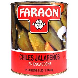 FARAON JALAPENOS WHO86096 6/92  OZ