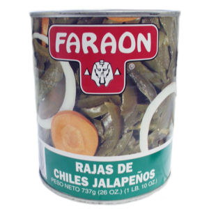 FARAON JALAPENO SLICES  G 12/26 OZ