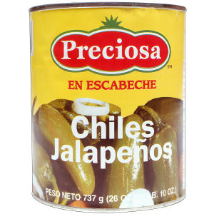 PRECIOSA JALAPENOS WHOLE  12/26 OZ