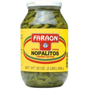 FARAON NOPALES NATURALES  12/32 OZ