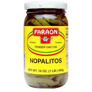 FARAON NOPALES NATURALES  12/16 OZ