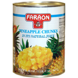 FARAON PINEAPPLE CHUNK    12/20 OZ