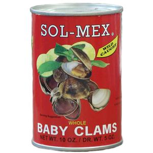 SOL-MEX ALMEJITAS -CLAM 1 12/10 OZ