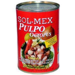 SOL-MEX CALAMAR PULPO STY 12/15 OZ