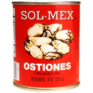 SOL-MEX OSTIONES HERVIDOS 24/8  OZ