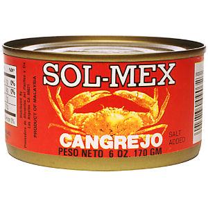 XOL-MEX CANGREJOS-CRAB    12/6.5 Z