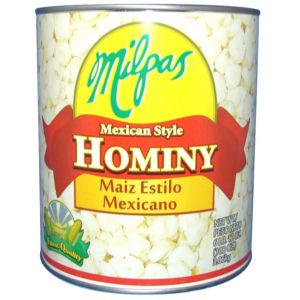 MILPAS HOMINY MEXICAN STY 6/108 OZ
