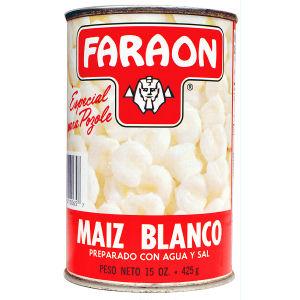 FARAON HOMINY WHITE       12/15 OZ