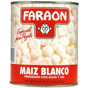 FARAON HOMINY WHITE       12/30 OZ