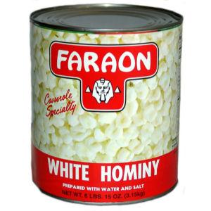 FARAON HOMINY WHITE       6/105 OZ