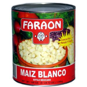 FARAON HOMINY WHITE MEXIC 6/108 OZ