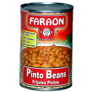 FARAON PINTO BEANS CAN    12/15 OZ