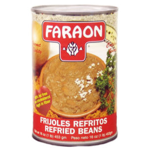 FARAON REFRIED BEANS12416 24/16 OZ