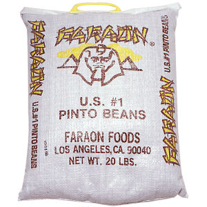 FARAON PINTO BEANS U.S.#1 20    LB