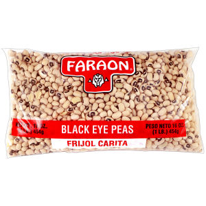 FARAON BLACK EYE PEAS     12/1  LB
