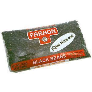 FARAON BLACK BEANS  96229 24/1  LB