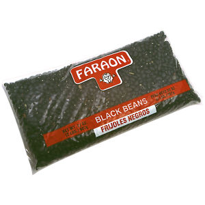 FARAON BLACK BEANS        12/2  LB