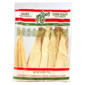 MILPAS CORN HUSKS         12/6  OZ