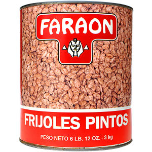 FARAON PINTO BEANS CAN    6/108 OZ