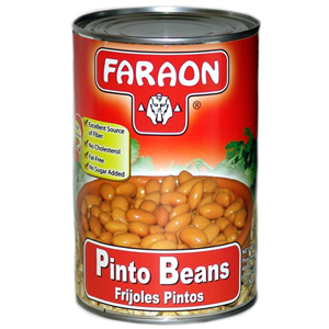 FARAON PINTO BEANS CAN    12/40 OZ