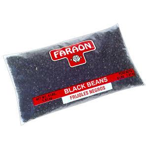 FARAON BLACK BEANS        6/4   LB