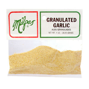 MILPAS GARLIC GRANULATED  12/1  OZ