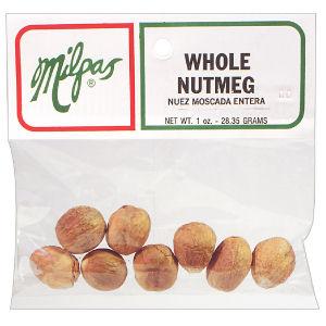 MILPAS NUTMEG WHOLE       12/1/4 Z