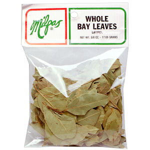 MILPAS BAY LEAVES WHOLE   12/5/8 Z