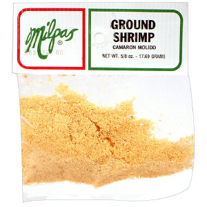 MILPAS SHRIMP GROUND      12/.63OZ