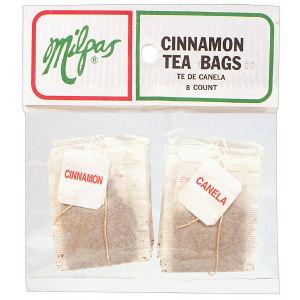 MILPAS TEA BAGS CINNAMON  12/6 CNT