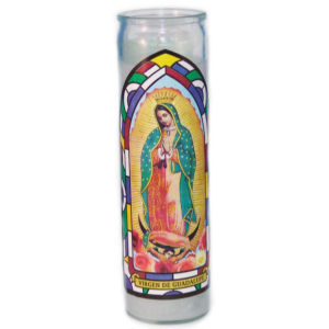SANCT GUADALUPE WHITE   W 12 TALL