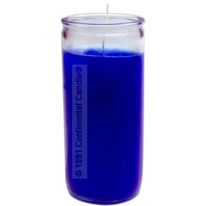 SOLID * BLUE CANDLE     B 12 REG