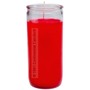 SOLID * RED CANDLE      R 12 REG