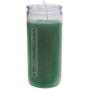 SOLID * GREEN CANDLE    G 12 REG