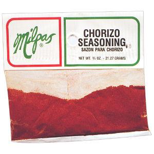 MILPAS CHORIZO SEASONING  12/3/4 Z