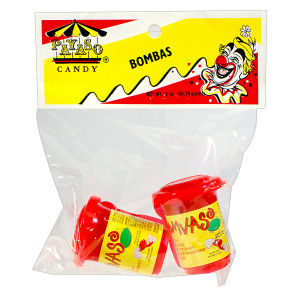CANDY PAYASO BOMBAS       12/2  OZ