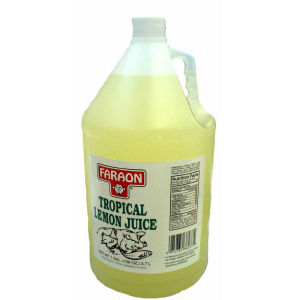FARAON LEMON JUICE TROPIC 4/1  GAL
