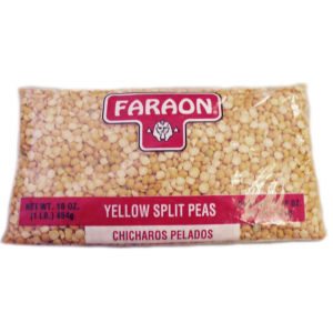 FARAON SPLIT PEAS YELLOW  12/1  LB