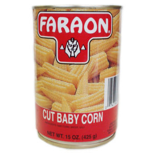FARAON BABY CORN CUT      12/15 OZ