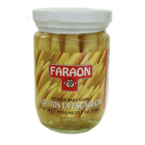 FARAON BABY CORN GLASS    12/7  OZ