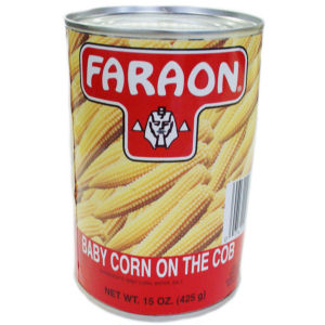 FARAON BABY CORN WHOLE    12/15 OZ
