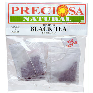 PRECIOSA H TE NEGRO BAGS  12/8 BAG