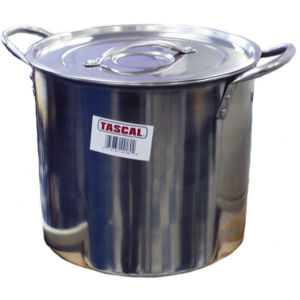 TASCAL POT SS 12 QUART    4   EACH