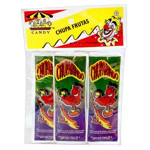 CANDY PAYASO CHUPA FRUTAS 12/3.5 Z