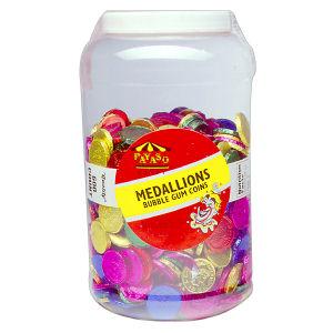 CANDY JAR MEDALLIONS 600C 1    JAR
